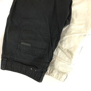 Lot of 2 Calvin Klein Jeans Womens Bermuda Shorts